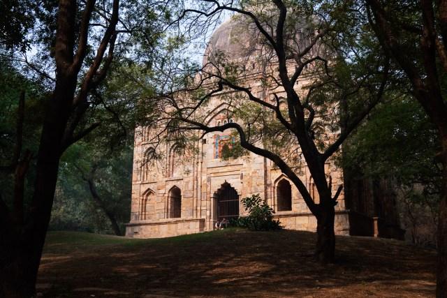 Bagh-I-Alam Ka Gumbad, meaning Garden of the World in Deer Park, Hauz Khas.