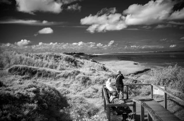 Sylt, at Morsum-Kliff. Leica M10-M with 35mm Summilux at f/2.8 1/125s ISO 1600, Infrared-Filter 715