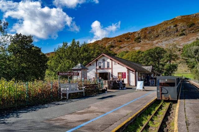Last outing: The Lake District and the Ravenglass & Eskdale Railway at Dalegarth Station