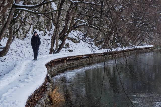 Reflections. Kaluderovac Lake