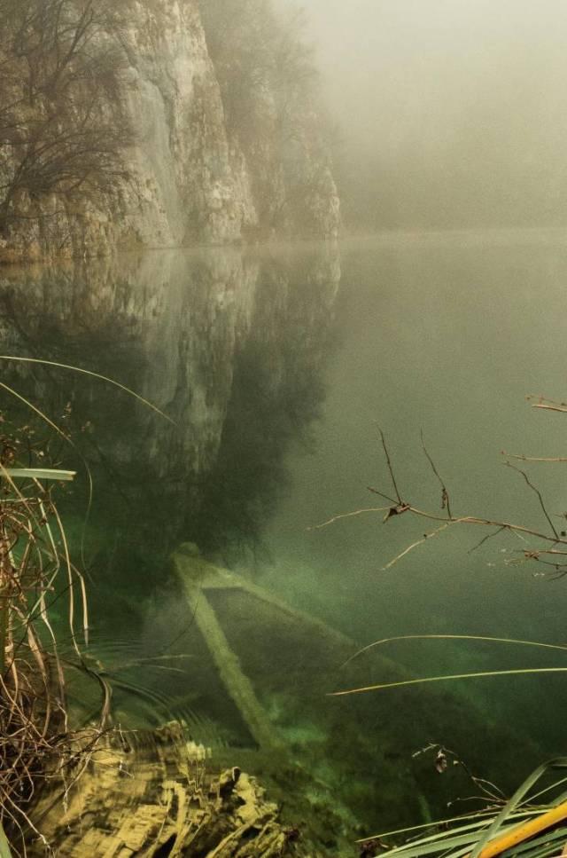 At rest. Kaluderovac Lake