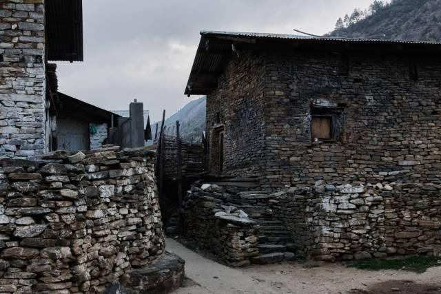 A Monpa house is unlike any other in Arunachal which are traditionally made of bamboo