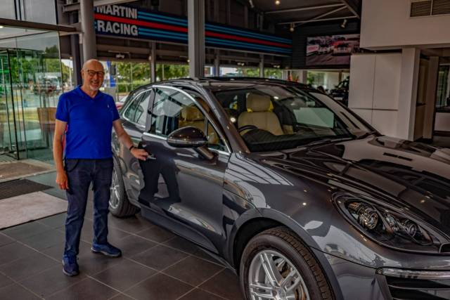 The joy of taking delivery of a new car, even if it's had a previous owner. Enter the Macan S, my last diesel motor...