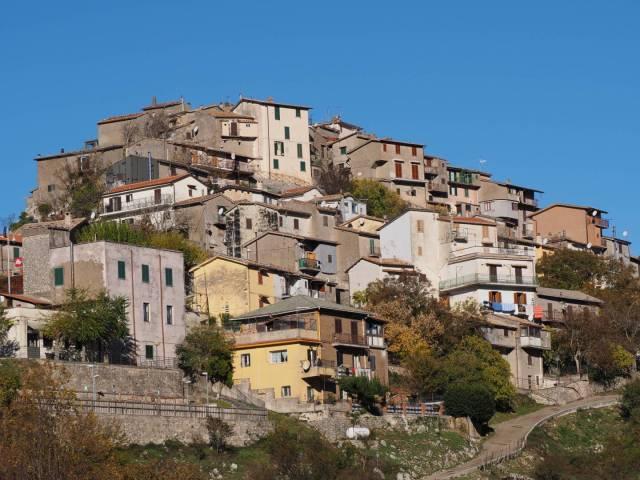The village of Saracinesco has a unique history involving Arab pirates