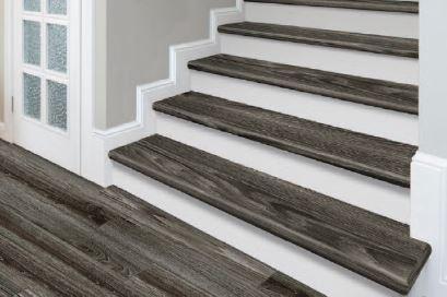 Gemcore Cap A Tread Stair Tread System Mccurley S Floor Center Inc   Hardwood Floor Stair Treads   Dark Oak   Hickory   Vinyl   Red Oak   Pergo Floor