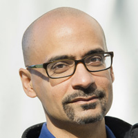 Profile portrait of Junot Díaz