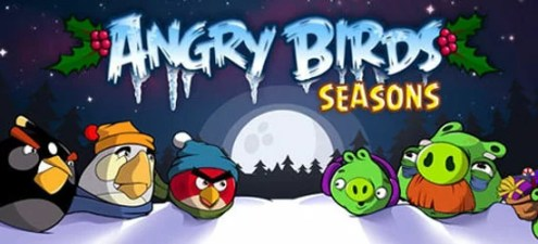 "Angry Birds Seasons - GAMES: Rovio lança novo ""Angry Birds Seasons"""