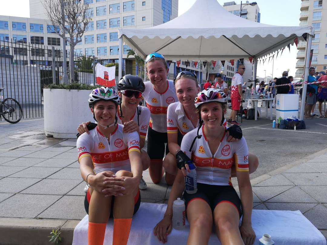 The Isle of Man Ladies Cycle Team Update