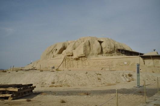 Kashan: Die Ruinen von Sialk sind mit ca. 4000 v.Chr. eine der ältesten weltweit