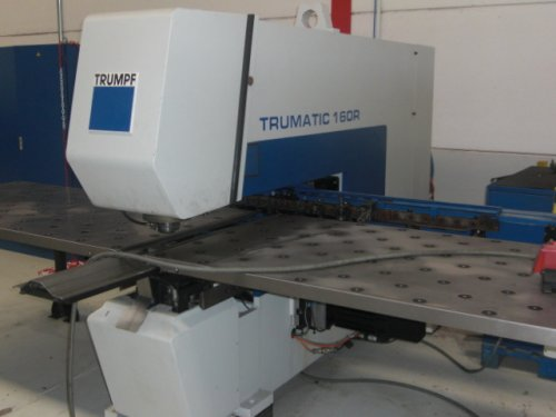 punzonatrice Trumpf Trumatic 160R usata in vendita