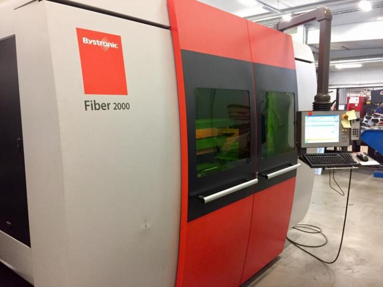 Taglio laser Bystronic Bysprint-fiber-3015 usato in vendita
