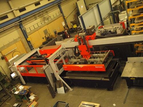taglio laser Bystronic Bystar II 3015-4000w usato in vendita