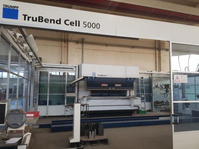 Trumpf TruBend 5170 + BendMaster 150 usato in vendita