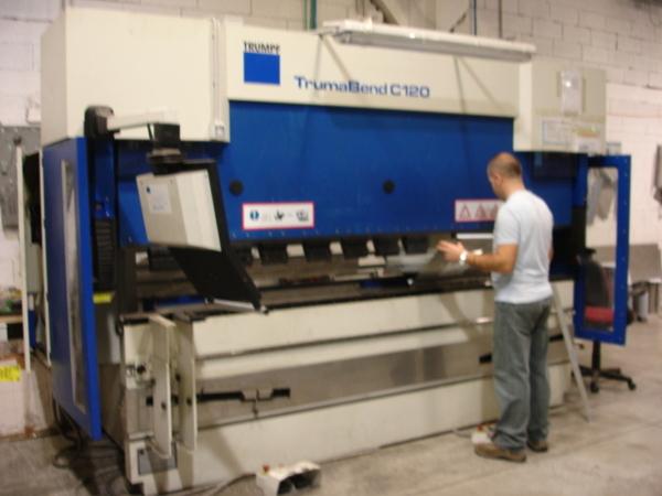 Pressa piegatrice TrumaBend C120 usata in vendita