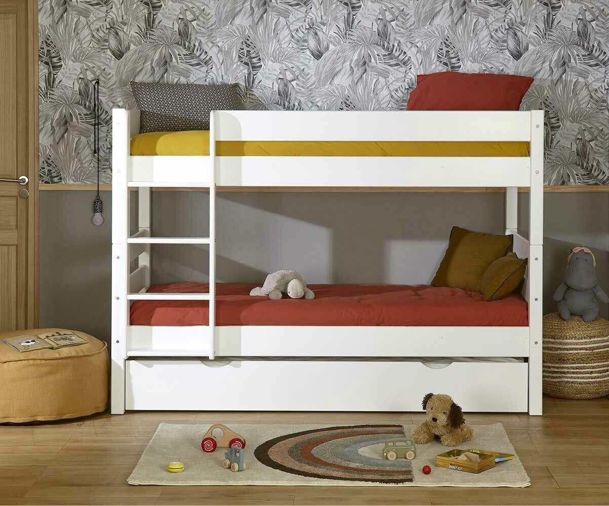 lit superpose enfant avec sommier gigogne 1 2 3