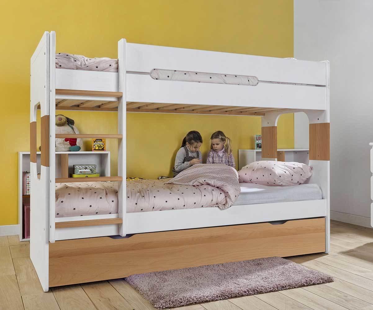 lit enfant superpose avec 2 matelas spark