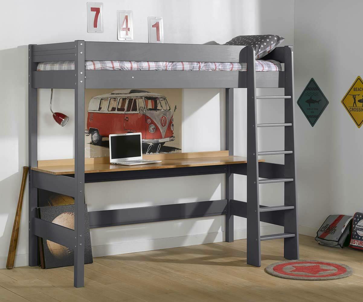 bureau pour lit enfant mezzanine clay