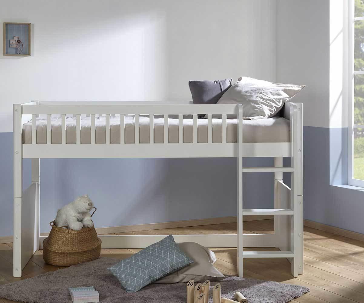 lit enfant mi hauteur evolutif avec matelas rio