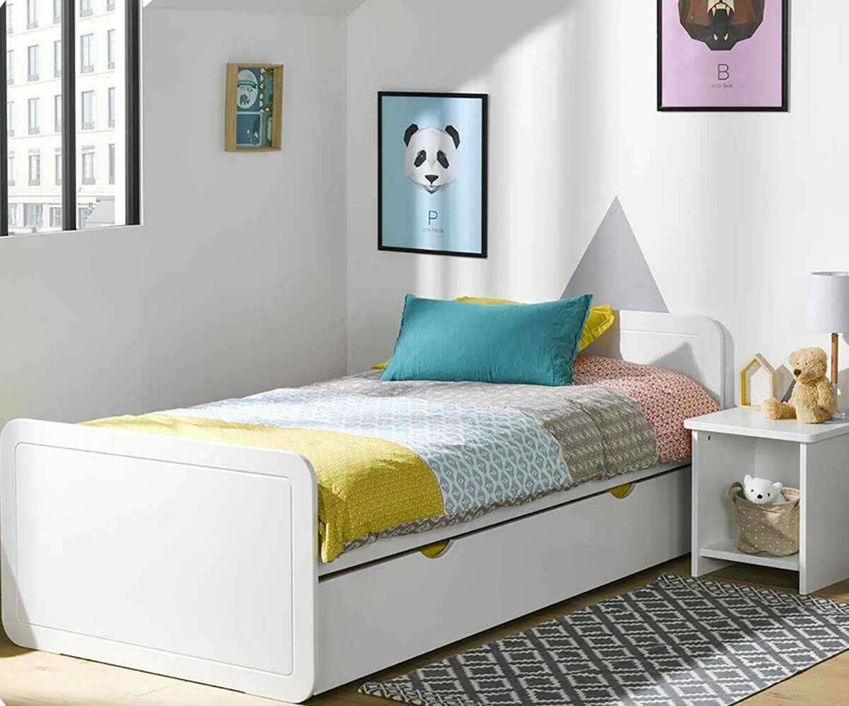lit enfant avec tiroir lemon