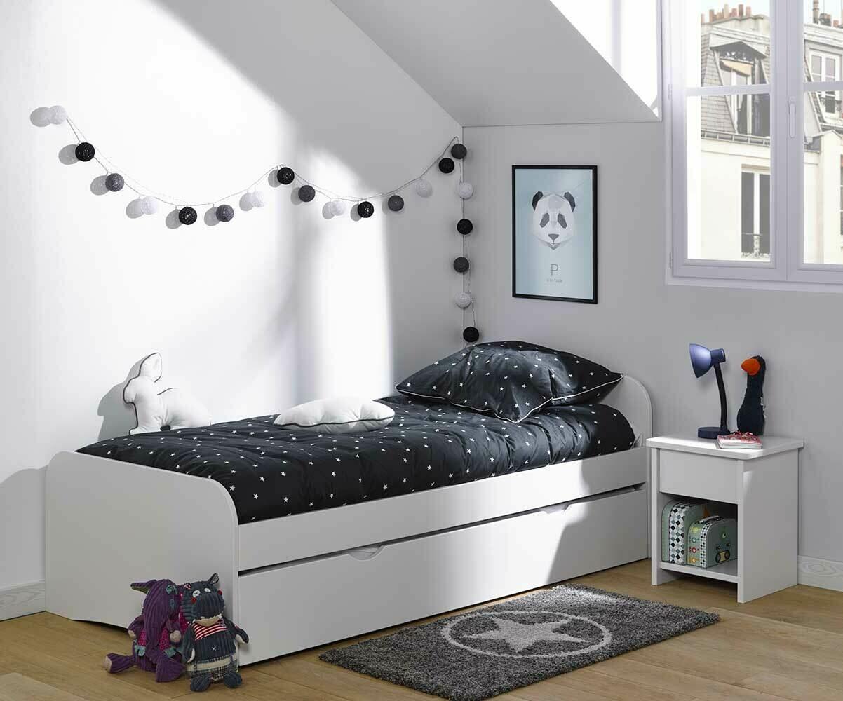 lit enfant avec tiroir twist