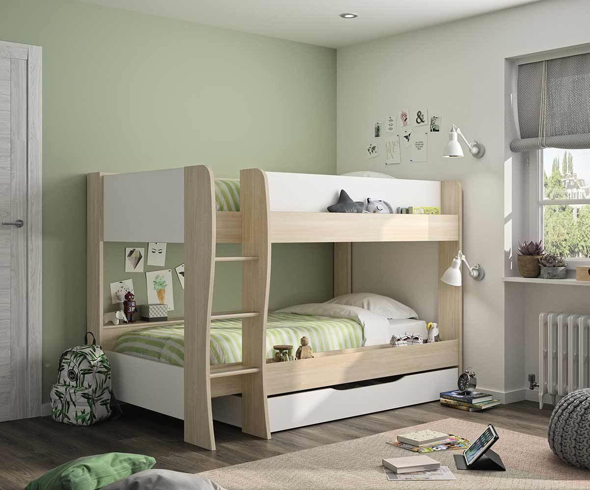 lit superpose enfant avec tiroir zao