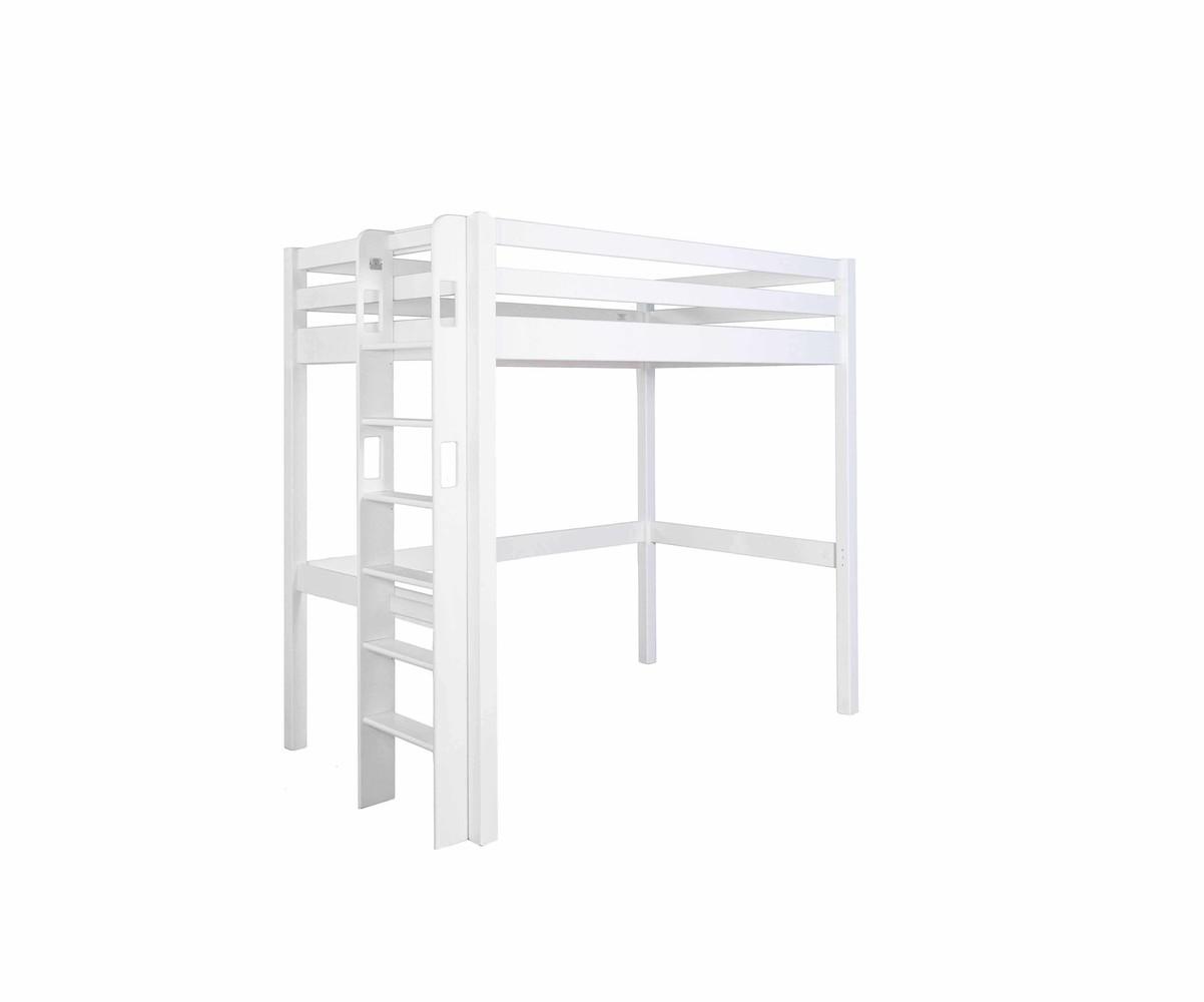 lit mezzanine enfant avec bureau fynn