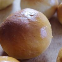 Buns aus dem Brotbackautomaten