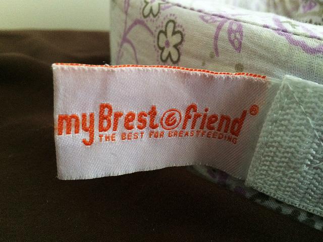 授乳クッション「マイブレストフレンド(My Brest Friend)のタグの画像