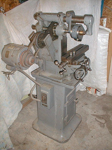 Burke Horizontal Milling Machine