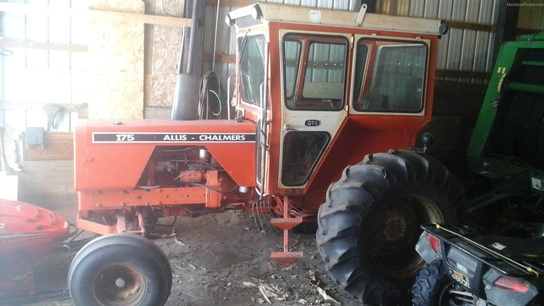 Allis Chalmers 175 Tractor Cab