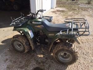 2003 Kawasaki BAYOU 250 ATV's and Gators  John Deere