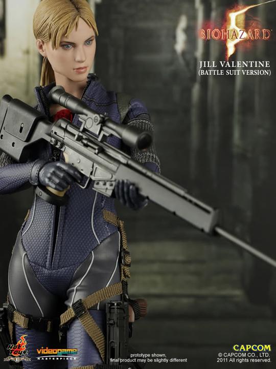 Figurine 16 Resident Evil 5 Jill Valentine Battle Suit