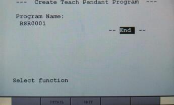 Program Creation