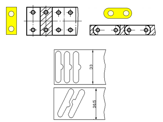 Selection of layout