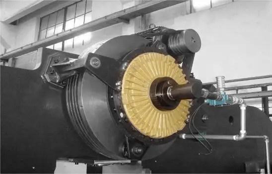 Mechanical main drive principle