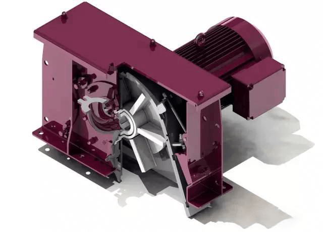 Mechanical centrifugal shot penning machine