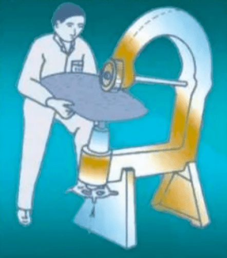 Mechanical leveling of sheet metal