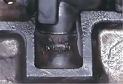 Thermal fatigue crack morphology characteristics on die cavity surface