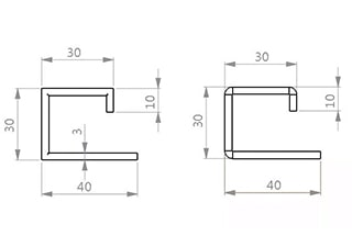 How To Calculate The Unfolded Length Of Groove Bending