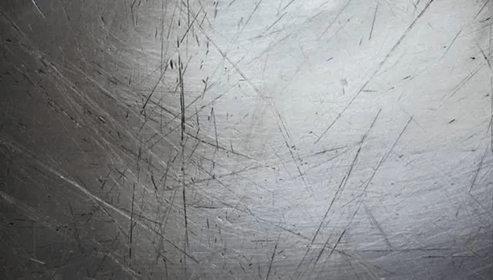 Fig. 1 Stainless steel products scratches