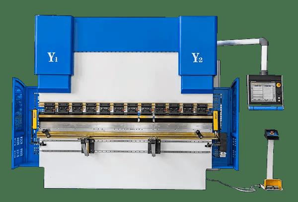 Electro hydraulic synchronous press brake