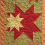 Detailed custom quilting can enhance the piecing of your quilt.