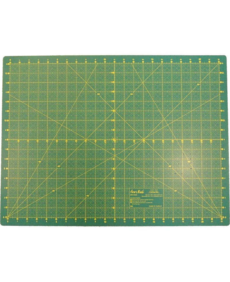 tapis de coupe pour couture 60cm x 45cm