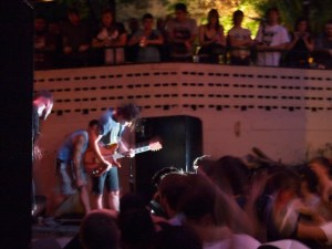 Touche Amore playing at Mohawk during Chaos in Tejas (Austin, TX)
