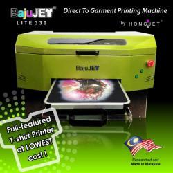 BajuJET - T-shirt Printer with White Ink