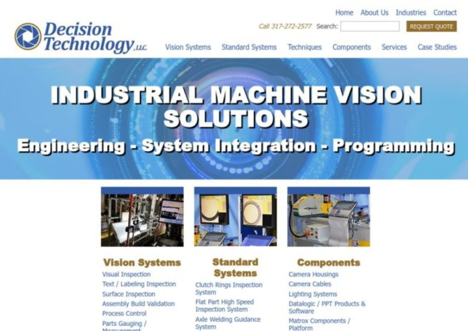 More Machine Vision Manufacturer Listings