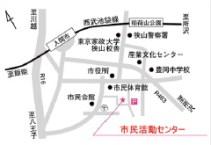 まちサポの地図