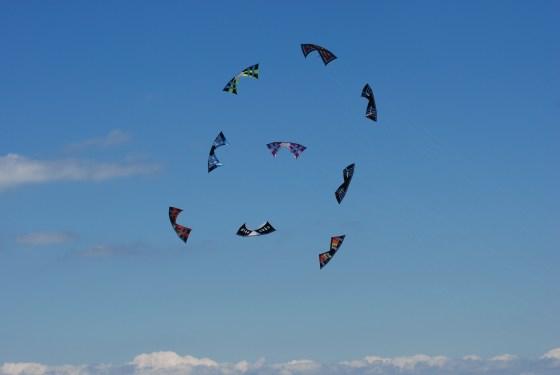 cerfs-volants à 4 fils