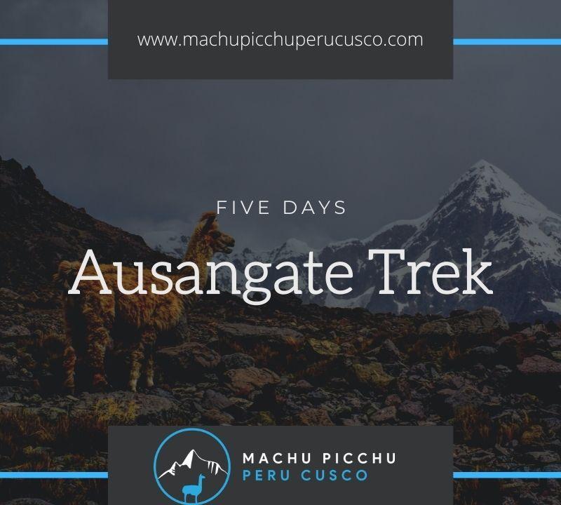 Apu Ausangate Trek - Nevado Ausangate Peru