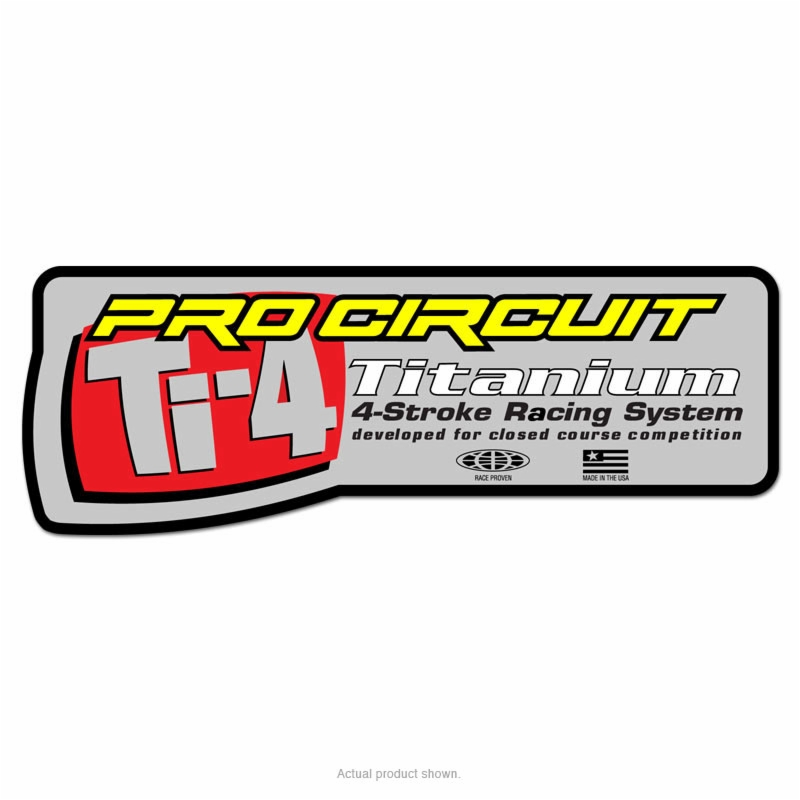 pro circuit silencer sticker for ti 4gp ti 4 08
